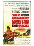 Bridge on the River Kwai, 1958 Digitálně vytištěná reprodukce