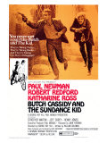 Butch Cassidy and the Sundance Kid, 1969 Reproduction procédé giclée