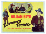 Borrowed Trouble, 1948 Plakater