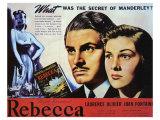 Rebecca, 1940 Premium Giclee Print