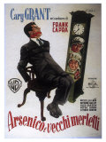 Arsenic and Old Lace, Italian Movie Poster, 1944 Premium Giclee Print