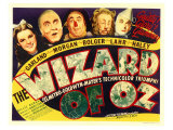 The Wizard of Oz, 1939 Giclee Print