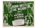 Batman and Robin, 1949 Prints