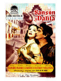 Samson & Delilah, Spanish Movie Poster, 1949 Prints