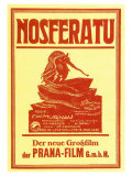 Nosferatu, a Symphony of Horror, German Movie Poster, 1922 Giclee Print