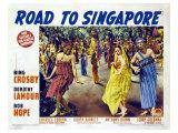 Road to Singapore, 1940 Print