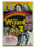 The Wizard of Oz, Australian Movie Poster, 1939 Giclée-tryk