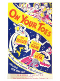 On Your Toes Print