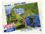 Caught in the Draft, 1941 Reproduction proc&#233;d&#233; gicl&#233;e