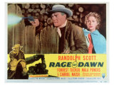 Rage at Dawn, 1955 Giclee Print