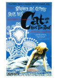 Cat On A Hot Tin Roof Art