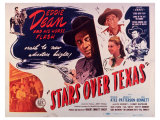 Stars Over Texas, 1946 Art