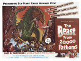 The Beast From 20,000 Fathoms, 1953 Premium Giclee Print
