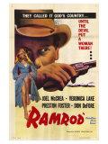 Ramrod, 1947 Reproduction procédé giclée