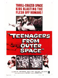Teenagers From Outer Space, 1959 Plakaty