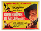 Gunfighters of Abilene, 1959 Giclee Print