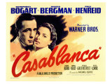 Casablanca, 1942 Reproduction procédé giclée