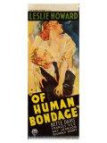 Of Human Bondage, 1934 Posters
