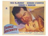 Double Indemnity, 1944 Giclée-tryk