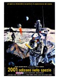 2001: A Space Odyssey, Italian Movie Poster, 1968 Prints