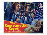 The Company She Keeps, 1950 Giclee Print