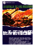 Battle of the Bulge, Spanish Movie Poster, 1966 Posters