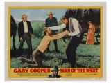 Man of the West, 1958 Poster