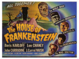 House of Frankenstein, 1944 Giclée-tryk