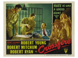 Crossfire, 1947 Giclee Print