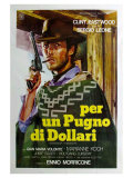 A Fistful of Dollars, Italian Movie Poster, 1964 Giclee Print