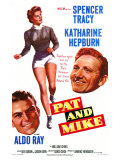 Pat and Mike, 1952 Posters