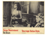 Marriage - Italian Style, 1965 Giclee Print