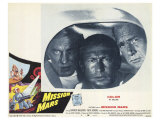 Mission Mars, 1968 Giclee Print