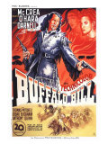 Buffalo Bill, French Movie Poster, 1944 Lámina giclée
