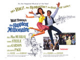 The Happiest Millionaire, 1968 Posters