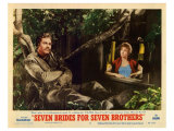 Seven Brides for Seven Brothers, 1954 Poster