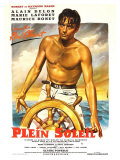 Purple Noon, French Movie Poster, 1964 Giclee Print