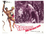 Tarzan and the Great River, 1967 Giclee Print