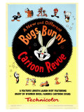 Bugs Bunny A Cartoon Revue, 1953 Giclee Print