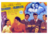 The Philadelphia Story, Spanish Movie Poster, 1940 Print