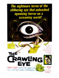 The Crawling Eye, 1958 Giclee Print