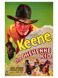 The Cheyenne Kid, 1933 Giclee Print
