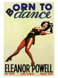 Born to Dance , 1936 Giclee Print