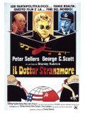 Dr. Strangelove, Italian Movie Poster, 1964 Giclée-Druck