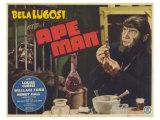 Ape Man, 1943 Giclée-tryk
