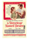 A Streetcar Named Desire, 1951 Planscher