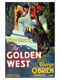 The Golden West Poster