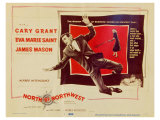 North By Northwest, 1959 Reproduction procédé giclée