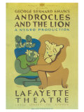 Androcles And The Lion Posters