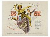 Calamity Jane, 1953 Posters